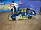 2002 ACTION 124 48 Jimmie Johnson Rookie Lowes Looney Tunes Rematch Chevy