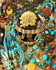 Southwest Jewelry Lot 60+ pieces 925 Silver Chicos Monet Copper Bell Chris Bank