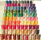 100 LARGE RAYON MACHINE EMBROIDERY THREADS for BROTHER