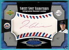TOM GLAVINE 2005 SWEET SPOT RED INK AUTOGRAPH AUTO 75
