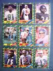 1986 Topps Football Complete Set Young & Rice Rookies