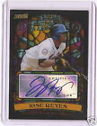 JOSE REYES 2008 TOPPS BEAM TEAM AUTOGRAPH -SP!!