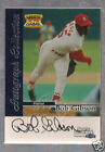 Bob Gibson 1999 Fleer Sports Illustrated Autograph card