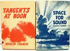 Marilyn Francis Poetry Space for Sound Tangents at Noon