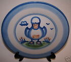 M.A. Hadley Plate Cow Horse Duck Animals Art Signed
