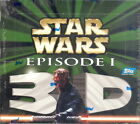 STAR WARS EPISODE 1 3D WIDEVISION 1999 TOPPS FACTORY SEALED TRADING CARD BOX