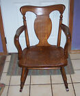 Ladies' Quartersawn Oak Empire Rocker / Rocking Chair  (R46)