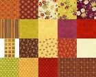 Red Rooster Olivia Quilt Fabric Collection 20 pcs