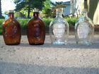 Lot of 4 Log Cabin Bicentennial 1776  1976 Bottles