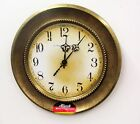 Wall German made round metal clock 310 30414