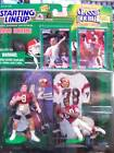 Starting Lineup Classic Doubles Steve Young/Doug Rice Action Figures/1998 Kenner