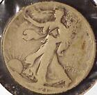 1921 50c WALKING LIBERTY KEY WITH COUNTERSTAMP