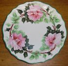 Antique Marseilles France Floral Painted Plate