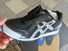 NEW ASICS HYPER ROCKET BLACK SILVER TRACK SHOES WOMENS 55 GN451