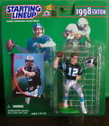 1998 Kerry Collins Carolina Panther Starting Lineup mint in pkg w/ football card