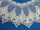 Vintage Antique SCHIFFLI GUIPURE LACE COLLAR ... 52 matching Collars available