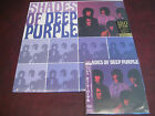 DEEP PURPLE SHADES OF DEEP PURPLE RARE JAPAN OBI REPLICA  CD + 180 GRAM VINYL LP