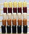 New 25 LARGE 3Ply 1100Yards QUILTING SEWING SERGER THREADS PIECING APPLIQUE SP3