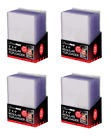 Combo Lot (100) Each Ultra-Pro Topload Card Holders Soft Sleeves Toploaders