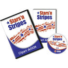 PATRIOTIC STAR STRIPES VINYL CUTTER PLOTTER IMAGES VECTOR CLIP ART CD