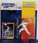 1994 Jimmy Key Rookie New York Yankees Starting Lineup mint in pkg w/ BB card