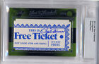 Bobby Doerr AUTO 2011 Leaf Best of Baseball Signed Cut Signature Ticket RED SOX