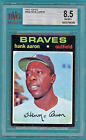 1971 Topps Hank Aaron #400 BVG 8.5 – NMMT+ Braves! Hall of Fame!