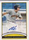 Robbie Grossman Houston Astros 2012 Topps Pro Debut Autograph
