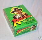 SCANLENS 1981 RAIDERS OF THE LOST ARK COUNTER DISPLAY CARD BOX