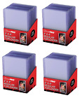 (100) Ultra-Pro Toploading Trading Card Holders Regular (4 Packs) Toploaders