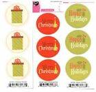 Pebbles Inc CHRISTMAS Duplicates Stickers Scrapbooking Cardmaking x3 Sheets