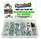 Kawasaki KX 120pc Bolt Kit 60 65 80 85 100 125 250 400 420 500 engine body frame