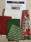 Christmas Poinsettias  Peppermints Wall Quilt Kit by Studio E Fabrics REDUCED