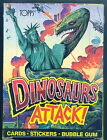 DINOSAURS ATTACK! 1988 TOPPS WAX TRADING CARD BOX T-REX CLEAN BOXES