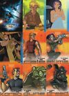 TITAN A.E. THE MOVIE 2000 INKWORKS COMPLETE BASE CARD SET OF 90 AN