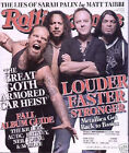 Rolling Stone 10 08 Metallica Jack White TV On Radio Sarah Palin Alicia Keyes