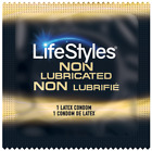 Lifestyles Ultra Sensitive Dry Non-Lubricated Bulk Condoms - Choose Quantity