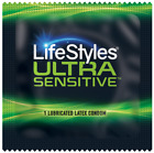 Lifestyles Ultra Sensitive Bulk Condoms - Choose Quantity