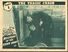 1944 MOVIE LOBBY CARD #4-1691 - MYSTERY OF THE RIVER BOAT - SERIAL CH1