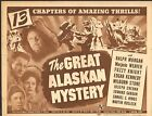 1944 MOVIE LOBBY CARD #4-1774 - GREAT ALASKAN MYSTERY - SERIAL - TITLE CARD