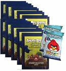 ANGRY BIRDS SPACE STICKER COLLECTION - 10 PACKS + 2 BONUS PACKS OF TRADING CARDS