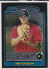 Jon Papelbon Philadelphia 2003 Bowman Chrome Draft Rookie Card