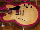 '87 GIBSON es335 es 335 BLONDE Antique Natural Tim Shaw PAFs RARE Cali Girl Case