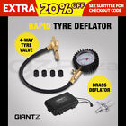Giantz Rapid Tyre Deflator Air Deflators 4WD 4X4 with Pressure Gauge Valve Tool