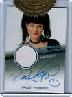NCIS 2012 AC1 Pauley Perrette as Abby Sciuto Autograph Costume Relic Card