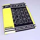 FORD 3400 3500 4400 4500 INDUSTRIAL TRACTOR OPERATORS OWNERS MANUAL SERVICE