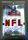 Doug Martin 2012 Absolute ON CARD RC Auto 3-Jersey #192 299 Buccaneers Bucs
