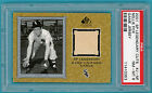 2001 SP Legendary Cuts, Nellie Fox Game Used Jersey #J-NF PSA 8! White Sox! POP3