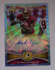 Alfred Morris RC Auto 2012 Topps Chrome Blue Wave Refractor BWA-AM