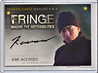 2013 Cryptozoic Fringe Seasons 3 and 4 Autographs Guide 30